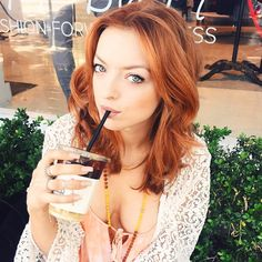 Francesca Eastwood with red hair. Beautiful Red Hair, Gorgeous Redhead, Hello Gorgeous, Clint Eastwood, Francesca Eastwood, Girls With Red Hair, Redhead Girl, Hair Shows, Bright Eyes