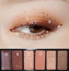 Video tutorial: WINGED cat eye makeup guide to adopting Pat McGr . - Make-Up Korean Makeup Look, Asian Eye Makeup, Eye Makeup Steps, Natural Eye Makeup, Smokey Eye Makeup, Natural Beauty, Korean Makeup Tips, Makeup Guide, Makeup Hacks