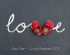 Valentine's Day pregnancy announcement, February