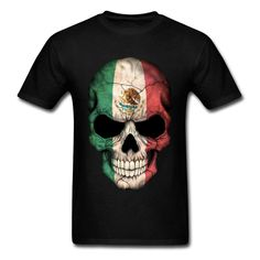 Hot new item just added today Mens Sugar Skull ... Get an extra 20%Off entire order use code SALE20. Click here http://everythingskull.com/products/mens-sugar-skull-big-size-mexican-flag-skull-tops-t-shirt?utm_campaign=social_autopilot&utm_source=pin&utm_medium=pin take a closer look.