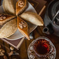 Azerbaijani sweets #pakhlavateahouse #pakhlava #beatgroup #baku #azerbaijan #nationalcuisine #traditionalcuisine #sweets #desserts #teadrinking #shekerbura #baklava
