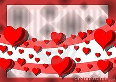 Illustration usable as background or saint valentines greeting card