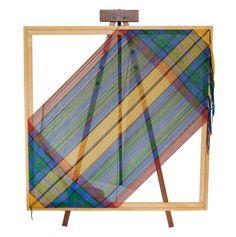 5 foot square weaving loom