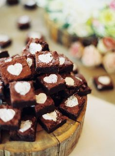 Wonderfully cute little marshmallow heart filled chocolate sweet treats.