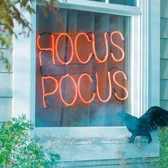 Hocus Pocus Neon Sig