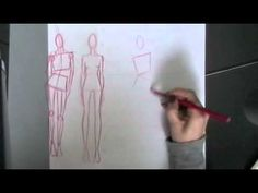 croquis basics.m4v. This is a fabulously interesting and useful video for anyone hoping to draw figures for fashion.