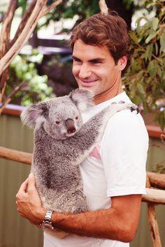 Roger Federer Australia 2014