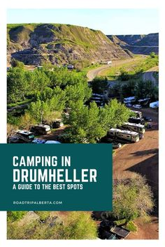 Camping Spots, Go Camping, Drumheller Alberta, River Grove, Alberta Travel, Rv Parks, Places To Visit, Canada, Landscape