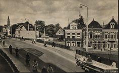 Viaduct spoor in Groningen