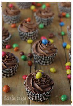 Cupcakes maños {by Paula, Con las Zarpas en la Masa}