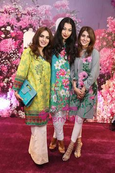 Pakistan Fashion New  Fashion, Fashion Current Events Collections Summer Collection Nishat Linen Unveils Their Suummer Collection At karachi