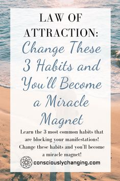 Learn the 3 most common habits that are blocking your manifestations! Change these habits and you'll become a miracle magnet! Manifestation Law Of Attraction, Law Of Attraction Quotes, Positive Phrases, Positive Affirmations, Money Affirmations, Money Quotes, Life Quotes, Daily Quotes, How To Manifest