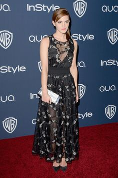 Best Dressed Golden Globes After-Parties: Emma Watson in Theory