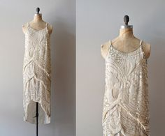 vintage 1920s Diaphanous Star dress | https://www.etsy.com/listing/103034185/1920s-dress-beaded-20s-dress-diaphanous    #vintage #vintagewedding