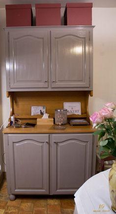 Buffet de salle à manger rénové avec la peinture Syntilor Renov'Cuisine
