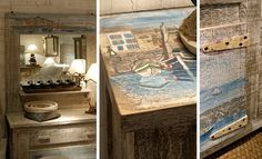 .: WOODHOUSE eShop :. Space Saving Furniture, Nautical Theme, Country Style, Dresser, Hand Painted, France, Interiors, Collections, Drawing