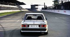 Remembering the Moment Ayrton Senna First Made His Mark Mercedes Benz 190e, Mercedes 190, Classic Mercedes, Wheel Flares, Roll Cage, Rear View, Race Cars, Dream Cars, Super Cars