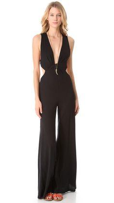 Blue Life Twisted Sleeveless Jumpsuit $115.00 $80.50 (30% off): Black