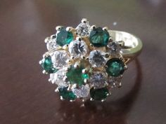 Emerald green were her eyes by Lot565 on Etsy, $750.00