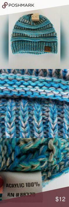 CC beanie Icy blue mix CC beanie. NEW never worn?? Accessories Hats