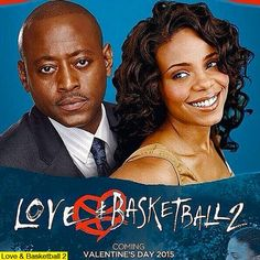 Love & Basketball 2  - a promo poster circulated the Internet on September 17. 2014. It is a faux poster with a faux release date for Valentine's Day 2015. Most remembered the romantic/comedy Love & Basketball (2000), starring Omar Epps and Sanaa Lathan, directed by Gina Prince-Bythewood.  Hollywood has no plans for a sequel at this time. Both Omar Epps, Sanaa Lathan, and director Gina Prince-Bythewood have made statements about an upcoming movie in the future on Twitter.
