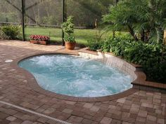 If you have a backyard available, you have two options: landscape it into a beautiful garden, or make a relaxing swimming pool to cool off. You can have both if you turn it into a small pool. A small swimming pool is a great idea … Pools For Small Yards, Small Backyard Pools, Backyard Landscaping, Small Backyards, Backyard Ideas, Landscaping Ideas, Desert Backyard, Modern Backyard, Large Backyard