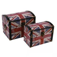 Union Jack Storage Trunks from Littlewoods