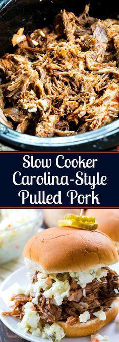 Slow Cooker Carolina-Style Pulled Pork