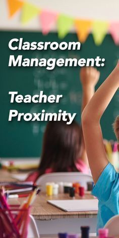 Teacher proximity can be an excellent tool for classroom management. But, sometimes there are unexpected consequences. Here is a list of some pros and cons. Classroom Management Techniques, Classroom Management Strategies, Teaching Techniques, Behavior Management, Teaching Methods, Teaching Strategies, Classroom Behavior, School Classroom, Classroom Rules