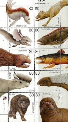 ICELAND'S STAMP(S) OF CRYPTOZOOLOGICAL APPROVAL