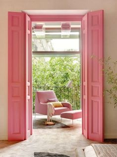 This balcony is tickled pink!   Mary Kay