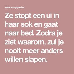 Ze stopt een ui in haar sok en gaat naar bed. Zodra je ziet waarom, zul je nooit meer anders willen slapen. Make Beauty, Beauty Care, Neck Pain Relief, Body Hacks, Get In Shape, Healthy Tips, Healthy Food, Feel Good, Natural Remedies