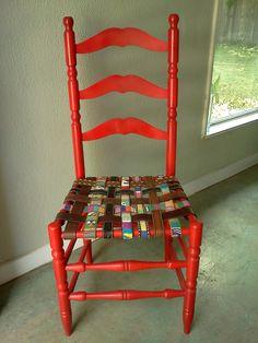 Belt Chair DIY project