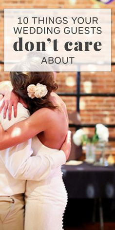 Know what your wedding guests really care about before you stress over the smallest details. Know what your wedding guests really care about before you stress over the smallest details. Wedding Advice, Wedding Planning Tips, Plan Your Wedding, Wedding Planner, Wedding Themes, Wedding Checklists, Cheap Wedding Ideas, Wedding Budgeting, Wedding Hacks