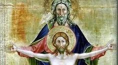 Sainte Trinité de Nicoletto Semitecolo (vers 1370) SOLENNITE DE LA SAINTE TRINITE