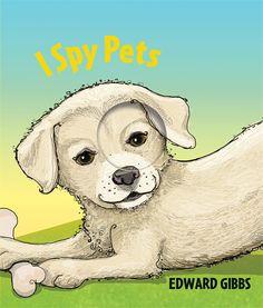 I Spy Pets by Edward Gibbs #kidlit #ispy #picturebooks from @templarbooks #pets