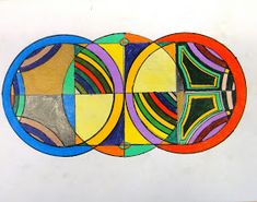 We've been studying Frank Stella's Protractor Series. After learning about the artist and analyzing his work througha PowerPoint, students...