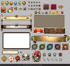 ARMI POLOS — Game UI Works_by EXOS SAGA