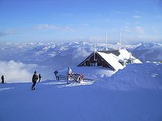 "Skiing above the clouds: ""Hohe Salve"" Tirol/Austria"