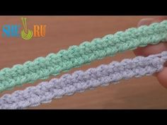 Crochet Romanian Point Lace Wide Cord Tutorial 48 European Macrame Cord - YouTube