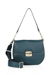 Furla - Club Leather Saddle Crossbody Bag
