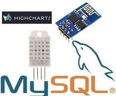 I will tell you how I did to get an ESP8266-01 to read data from DHT22 and send it to an MYSQL database then view the data with HighChartsFeatures that I will add...