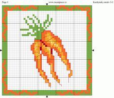 Carrots perler bead pattern