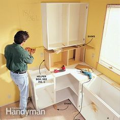 How To Install Kitchen Cabinets Kitchens And Countertopas