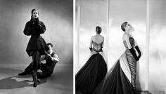 Charles James with Model, 1948 Courtesy of The Metropolitan Museum of Art, Photograph by Cecil Beaton, Beaton / Vogue / Condé Nast Archive. Copyright © Condé Nast – Charles James Butterfly Gown, 1954 Courtesy of The Metropolitan Museum of Art, Photograph by Cecil Beaton, The Cecil Beaton Studio Archive at Sotheby's - More on www.identitebook.com