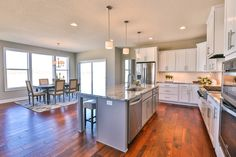 Gallery - Creative Homes. Amazing kitchen in one of our homes in the neighborhood Prairie Village, located in Hugo, MN.