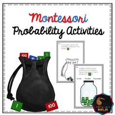 Probability math activities designed for fluent readers in 6-9 classrooms. Uses Montessori equipment and Marbles to explore:-Whether a scenario is certain, possible or impossible- Work out probability using fractions3 different activitiesINCLUDEDLesson plans for teacher3 different activities all with answersInterested in maths resources?