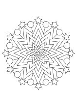 Weihnachtsmandala ausdrucken ausmalen Crafts For Kids, Coloring, Christmas Decorations, Symbols, Winter, Pictures, Art, Christmas Crafts, Mandala Colouring Pages