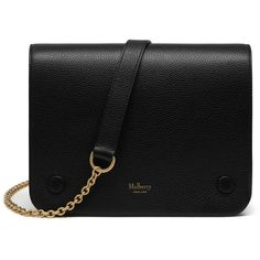 Mulberry Clifton (9 015 SEK) ❤ liked on Polyvore featuring bags, handbags, shoulder bags, black, chain strap handbag, mulberry purse, crossbody purse, chain shoulder bag and camoflauge purse