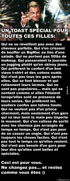 Ces filles un peu comme moi Words Quotes, Life Quotes, Deep Texts, French Quotes, How I Feel, Writing Prompts, Sentences, Affirmations, Quotations